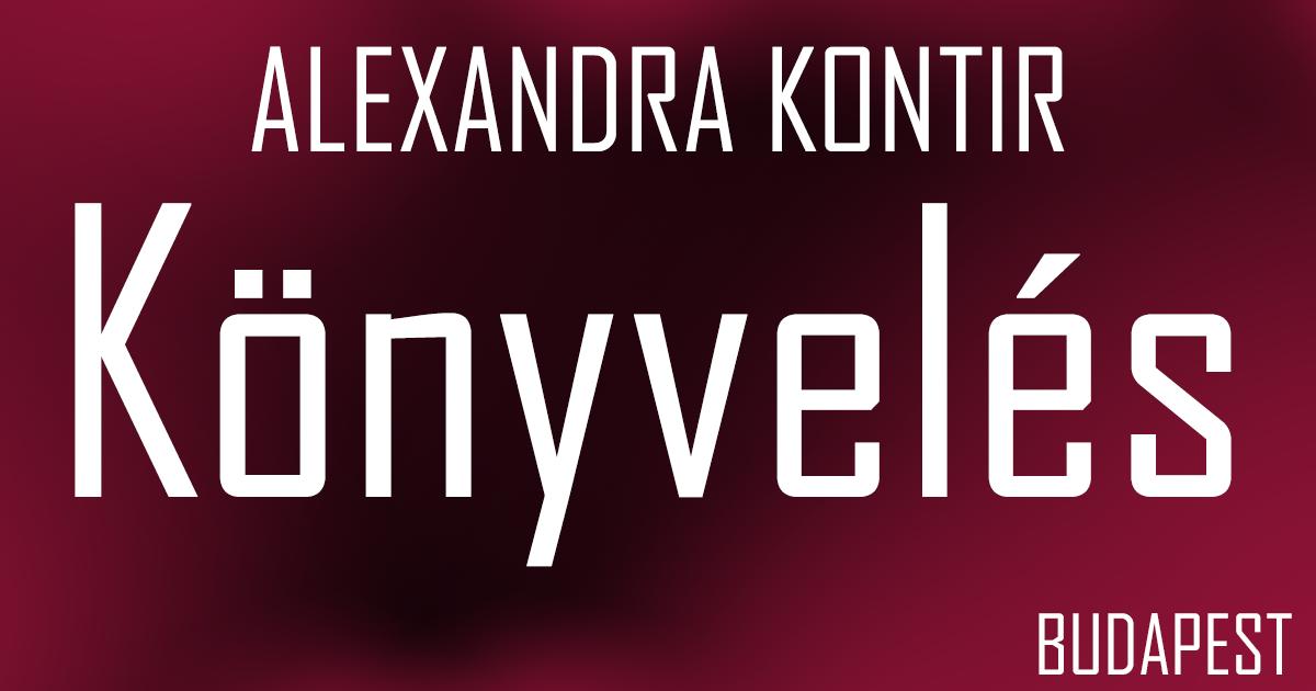 Alexandra Kontír Dokumentumtár
